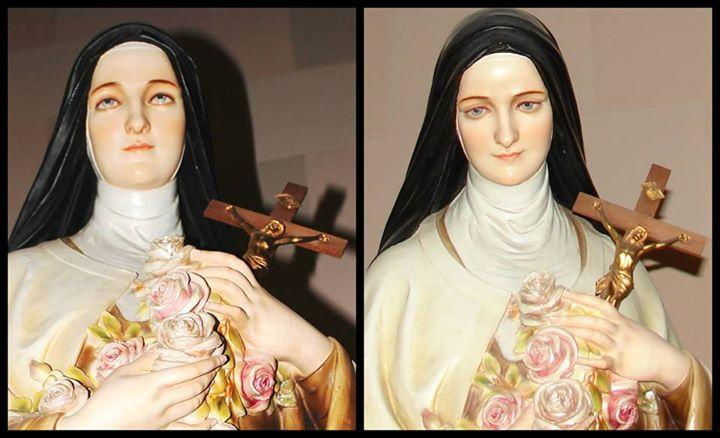 Statue of St. Therese